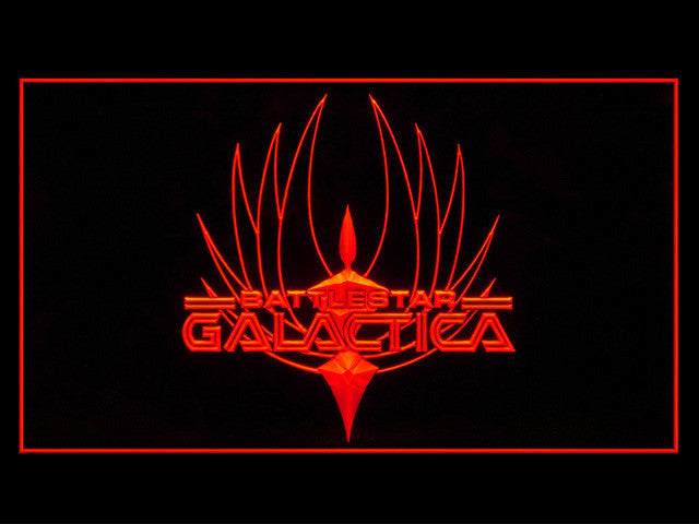 Battlestar Galactica Display LED Sign - Red - TheLedHeroes