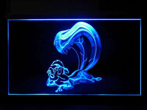 Pepe Le Pew LED Sign - Blue - TheLedHeroes