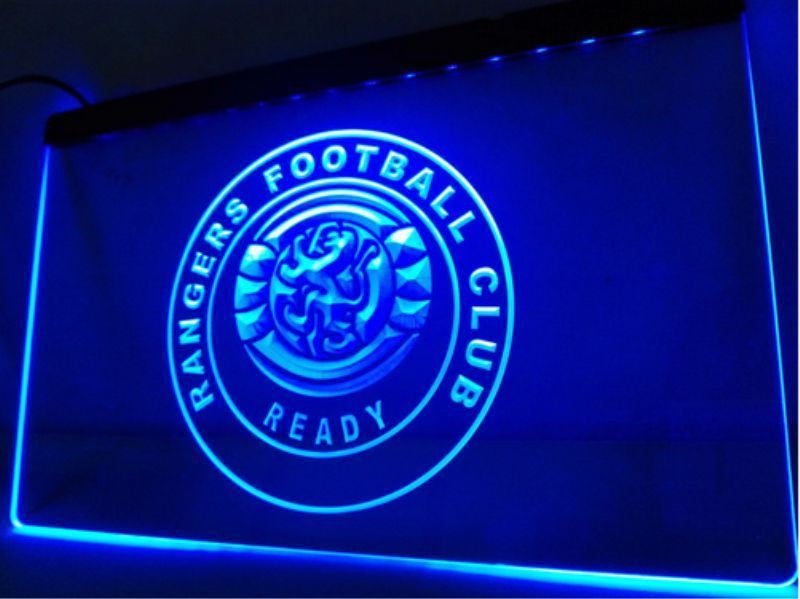 Rangers F.C. LED Sign - Blue - TheLedHeroes