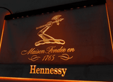 FREE Hennessy Cognac LED Sign - Orange - TheLedHeroes