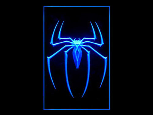 Spider-Man LED Sign - Blue - TheLedHeroes