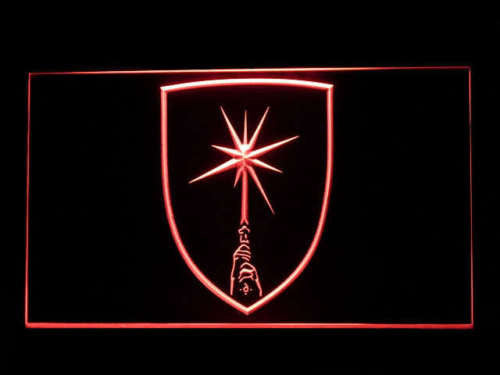Star Wars Jedi Crest LED Sign - Red - TheLedHeroes