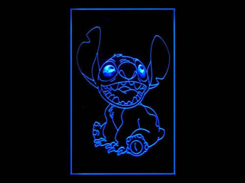 Stitch LED Sign - Blue - TheLedHeroes