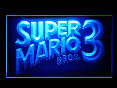 FREE Super Mario Bros. 3 LED Sign -  - TheLedHeroes