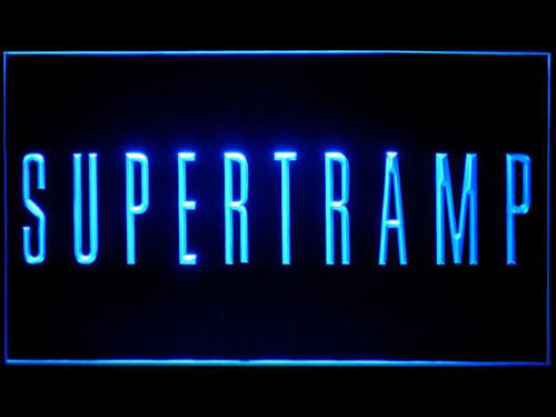 Supertramp LED Sign - Blue - TheLedHeroes