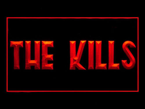 THE KILLS LED Sign - Red - TheLedHeroes