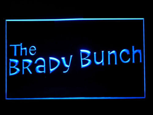 The Brady Bunch LED Sign - Blue - TheLedHeroes