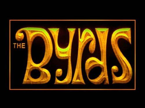 The Byrds LED Neon Sign USB - Yellow - TheLedHeroes