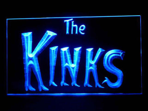 The Kinks LED Sign - Blue - TheLedHeroes