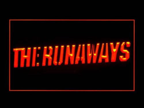 The Runaways LED Sign - Red - TheLedHeroes