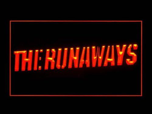 The Runaways LED Neon Sign USB - Red - TheLedHeroes