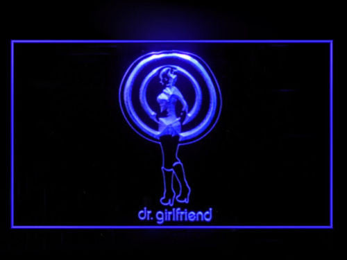 The Venture Bros Dr Girlfriend LED Sign - Purple - TheLedHeroes