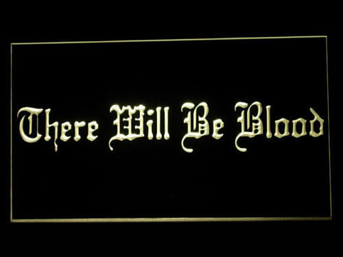 FREE There will be Blood LED Sign - Multicolor - TheLedHeroes