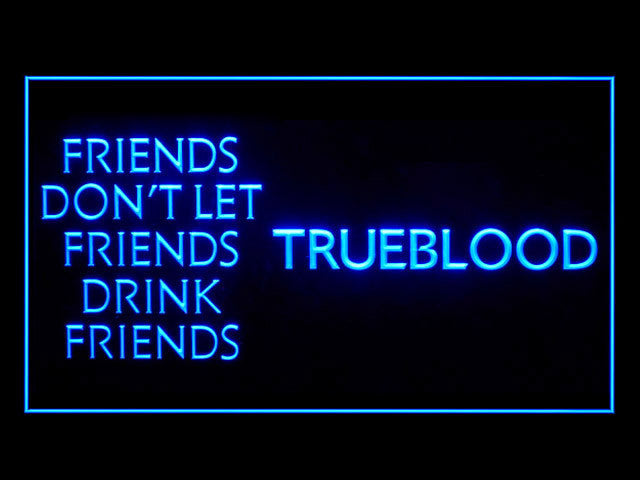 True Blood LED Sign - Blue - TheLedHeroes