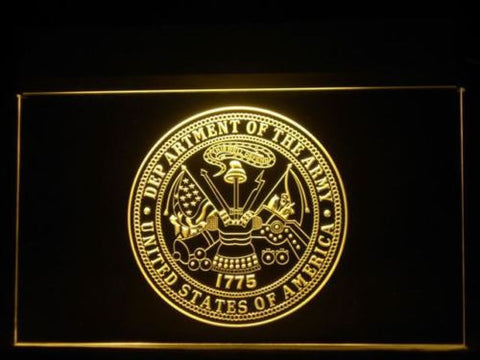 U.S. Army Badge 1775 Display LED Sign - Multicolor - TheLedHeroes