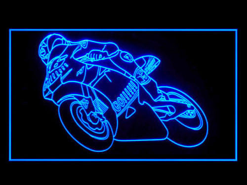 FREE Valentino Rossi LED Sign - Blue - TheLedHeroes