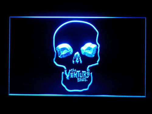 Venture Brothers LED Sign - Blue - TheLedHeroes