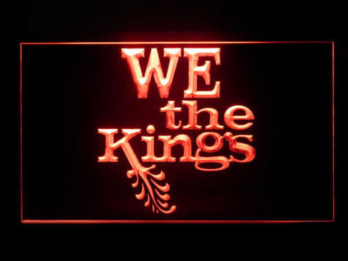 We The Kings LED Sign - Red - TheLedHeroes