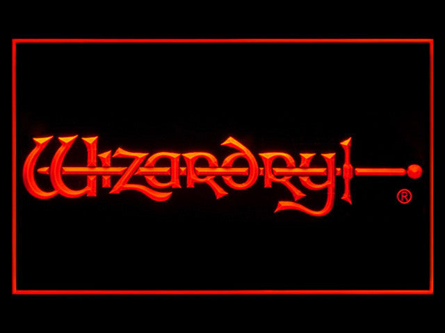 Wizardry LED Sign - Red - TheLedHeroes