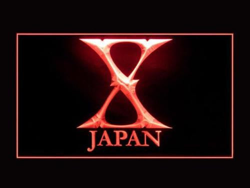 X Japan LED Sign - Red - TheLedHeroes