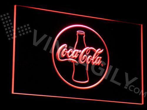 Coca Cola 2 LED Sign - Red - TheLedHeroes