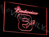 Budweiser 8 LED Sign - Red - TheLedHeroes