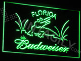 Budweiser Florida LED Sign - Green - TheLedHeroes