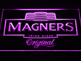 Magners Irish Cider Bar Beer Pub LED Sign - Purple - TheLedHeroes