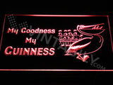 My Goodness My Guinness LED Sign - Red - TheLedHeroes