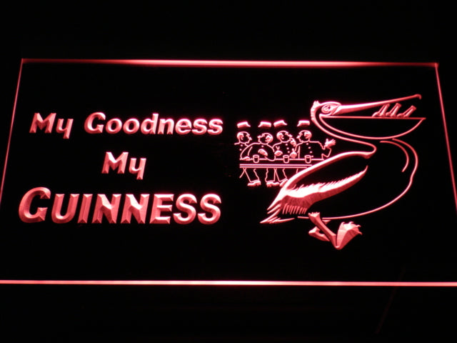 FREE My Goodness My Guinness LED Sign - Red - TheLedHeroes