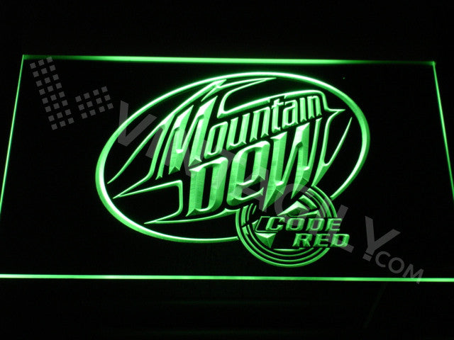 Mountain Dew LED Sign - Green - TheLedHeroes