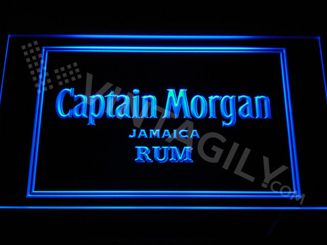 Captain Morgan LED Sign - Blue - TheLedHeroes