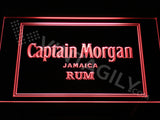 Captain Morgan LED Sign - Red - TheLedHeroes