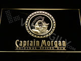 Captain Morgan 2 LED Sign - Yellow - TheLedHeroes