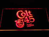Colt 45 Malt Liquor LED Sign - Red - TheLedHeroes