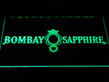 FREE Bombay Sapphire Gin LED Sign - Green - TheLedHeroes