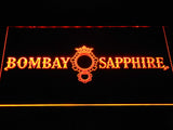 Bombay Sapphire Gin LED Sign - Orange - TheLedHeroes