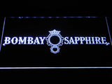 FREE Bombay Sapphire Gin LED Sign - White - TheLedHeroes