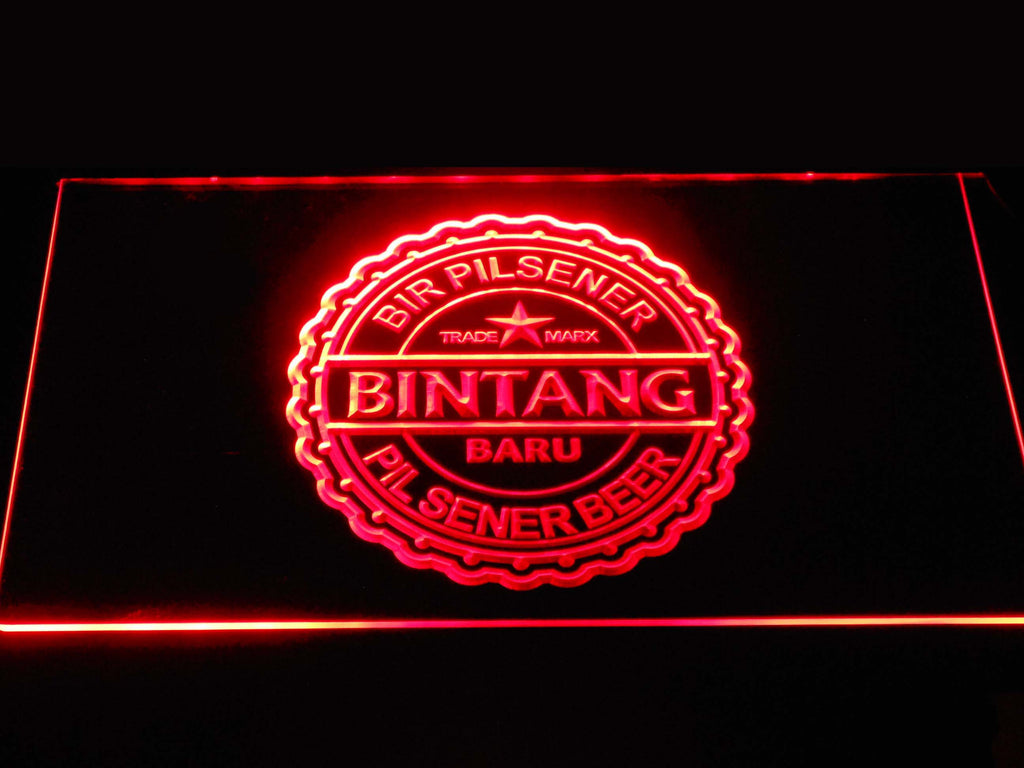 Bintang Beer LED Sign - Red - TheLedHeroes