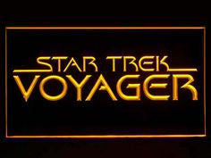 Star Trek Voyager Logo Movie LED Sign - Multicolor - TheLedHeroes