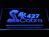 Shelby Cobra AK 427 LED Neon Sign USB - Blue - TheLedHeroes