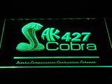 Shelby Cobra AK 427 LED Neon Sign USB - Green - TheLedHeroes