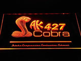 Shelby Cobra AK 427 LED Neon Sign USB - Orange - TheLedHeroes