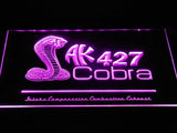 Shelby Cobra AK 427 LED Neon Sign USB - Purple - TheLedHeroes