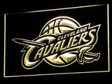 FREE Cleveland Cavaliers Wall LED Sign - Yellow - TheLedHeroes