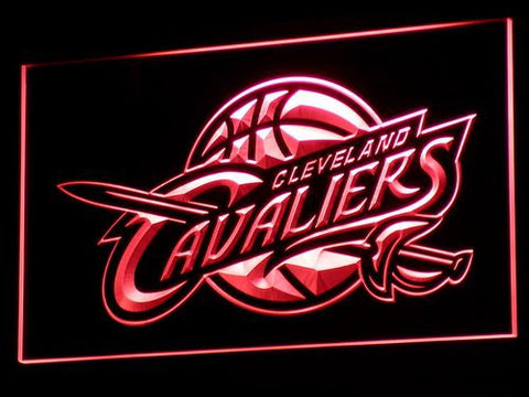 Cleveland Cavaliers Wall LED Sign - Red - TheLedHeroes