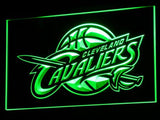 FREE Cleveland Cavaliers Wall LED Sign - Green - TheLedHeroes