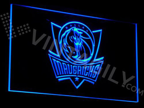 Dallas Mavericks LED Sign - Blue - TheLedHeroes