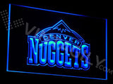 FREE Denver Nuggets LED Sign - Blue - TheLedHeroes
