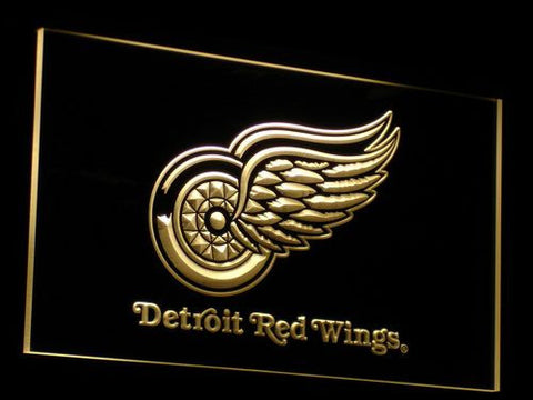 Detroit Red Wings Neon LED Sign